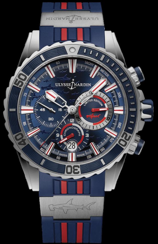 Ulysse Nardin Marine Diver Chronograph 1503-151LE-3/93-HAMMER
