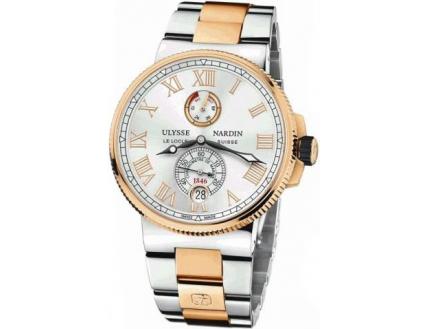 Ulysse Nardin Marine Chronometer Manufacture 1185-122-8M/41 V2