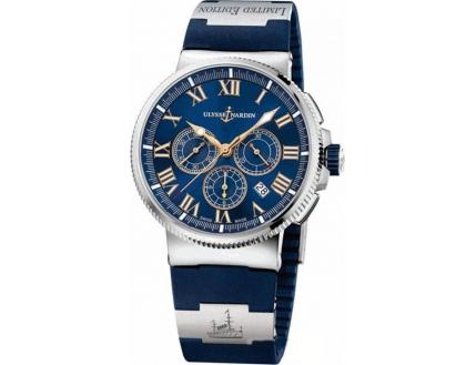 Ulysse Nardin Marine Chronometer Marine Chronograph Manufacture 1503-150LE-3/43-BALT V2