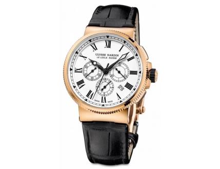 Ulysse Nardin Marine Chronometer Marine Chronograph Manufacture 1506-150LE