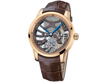 Ulysse Nardin Exceptional Skeleton Tourbillon Manufacture 1706-129/BQ