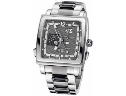 Ulysse Nardin Quadrato Dual Time Perpetual 320-90-8M/69