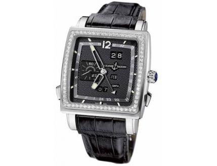 Ulysse Nardin Quadrato Dual Time Perpetual 320-90B/62