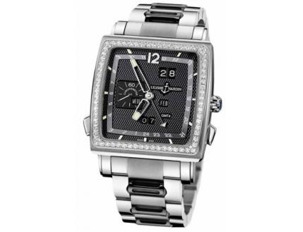 Ulysse Nardin Quadrato Dual Time Perpetual 320-90B-8M/62