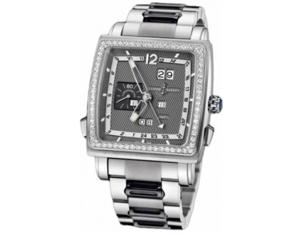 Ulysse Nardin Quadrato Dual Time Perpetual 320-90B-8M/69