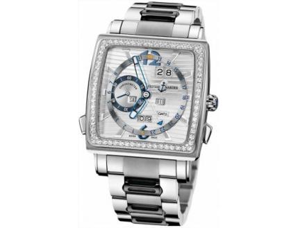 Ulysse Nardin Quadrato Dual Time Perpetual 320-90B-8M/91