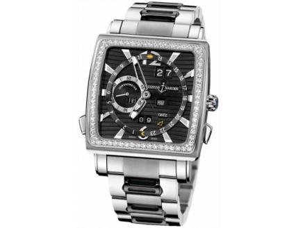 Ulysse Nardin Quadrato Dual Time Perpetual 320-90B-8M/92