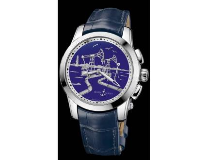 Ulysse Nardin Exceptional Hourstriker Boutique Exclusive Timepiece 6109-131/E3-OIL-BQ
