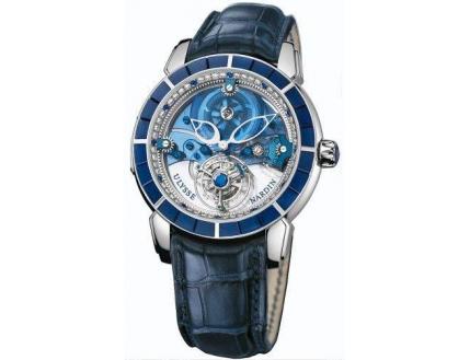 Ulysse Nardin Exceptional Royal Blue Tourbillon Haute Joaillerie 799-90BAG
