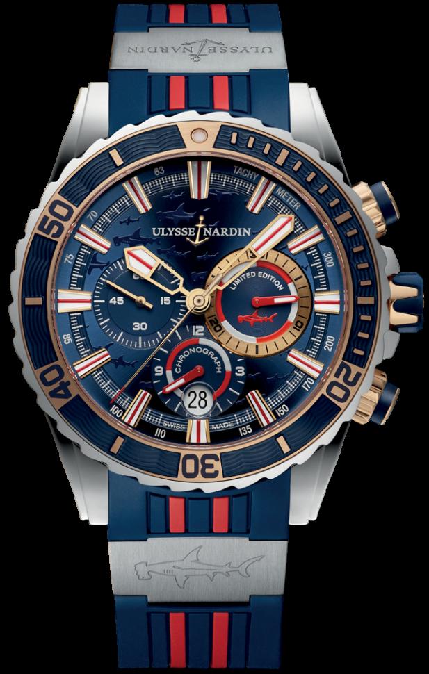 Ulysse Nardin Diver Chronograph 1505-151LE-3/93-HAMMER/BQ