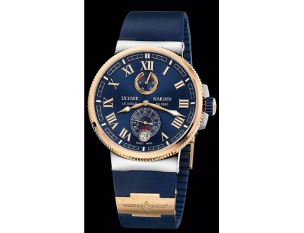 Ulysse Nardin Marine Chronometer Manufacture 1185-126-3T/43-BQ